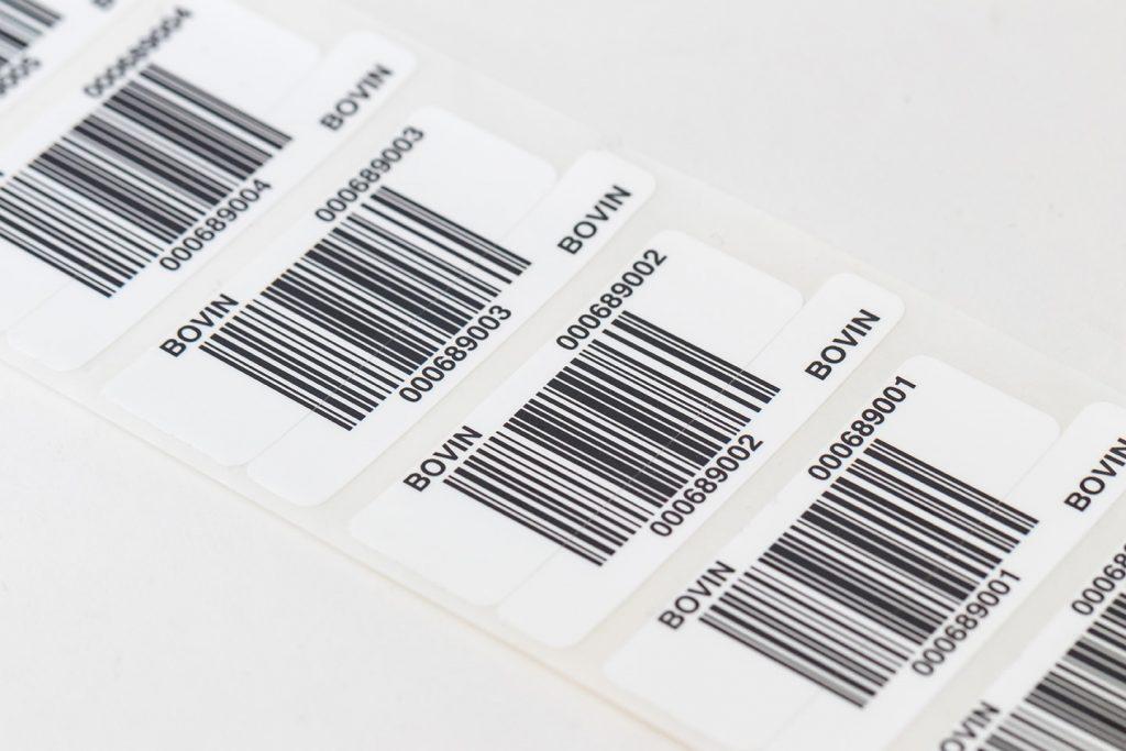 étiquette données variables